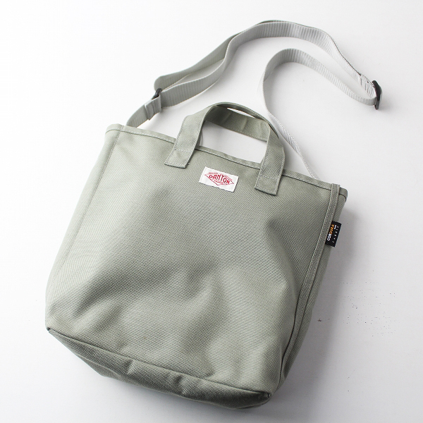 DANTON ダントン コーデュラナイロン 2WAY バッグ/グレーカーキ かばん BAG 鞄【2400011460226】
