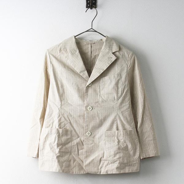 美品 45R フォーティーファイブ シーツクロス ジャケット 1/ベージュ トップス 羽織り 上着【2400011461445】