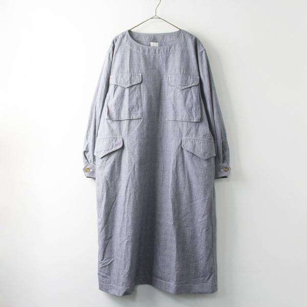 定価4.2万 45R フォーティーファイブ サード オックス DECK DRESS ワンピース 0/ロング ドレス【2400011463111】