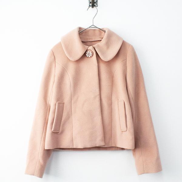 L'EST ROSE レストローズ ビーズ ビジュー 装飾 ジャケット 2/ピンク系 アウター【2400011465528】