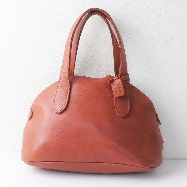TIDEWAY タイドウェイ レザー ボストンバッグ/ブラウン 茶 かばん 鞄 BAG ハンドバッグ【2400011466020】