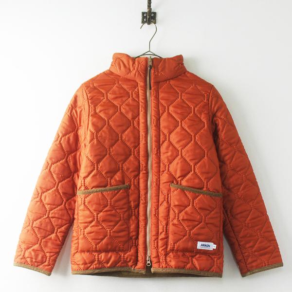 ARMEN アーメン リバーシブル キルティング ジャケット/ブラウンベージュ × オレンジ アウター 上着 羽織り【2400011467331】