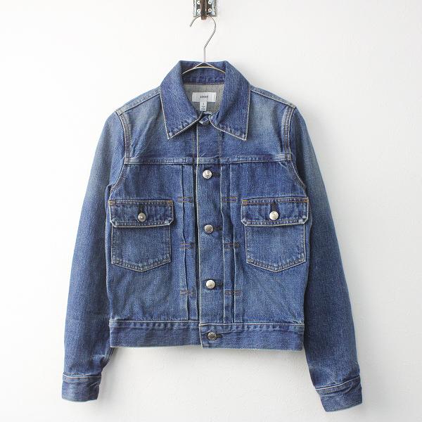 HYKE ハイク TYPE2 デニム ジャケット 1/ブルー トップス 羽織り 長袖【2400011469106】
