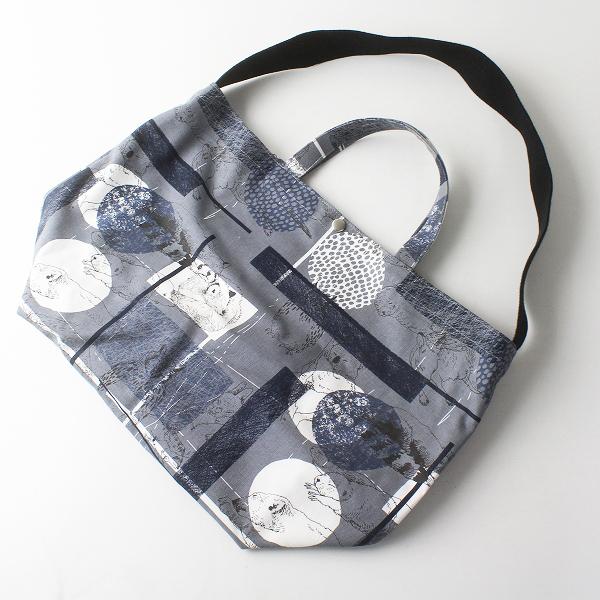 marble SUD マーブルシュッド ハンプ Day dream 2WAY TOTE BAG トートバッグ/ グレー 鞄 帆布 アニマル カジュアル【2400011473639】