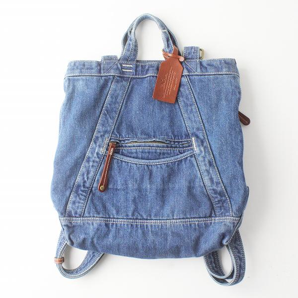 Dakota ダコタ 2way デニム リュックサック/ブルー トート 手提げ カバン デイパック bag【2400011474476】