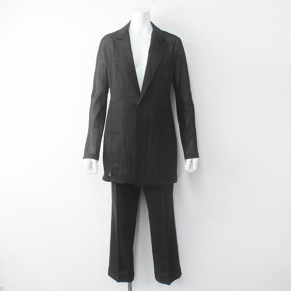 Y's Yohji Yamamoto ワイズ ヨウジヤマモト 変形 セットアップ パンツ スーツ ジャケット 1/ブラック【2400011482655】