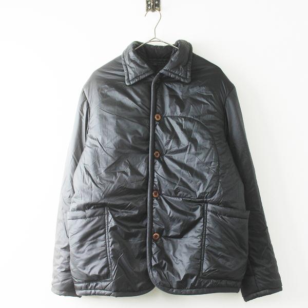 45R フォーティファイブ ナイロン 中綿 ジャケット 3/ブラック アウター 上着 羽織り ブルゾン 中わた【2400011486776】