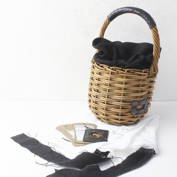 ebagos エバゴス ブライドル マグ かごバッグ 防水 キャンバス/ブラウン かばん BAG 鞄【2400011504357】