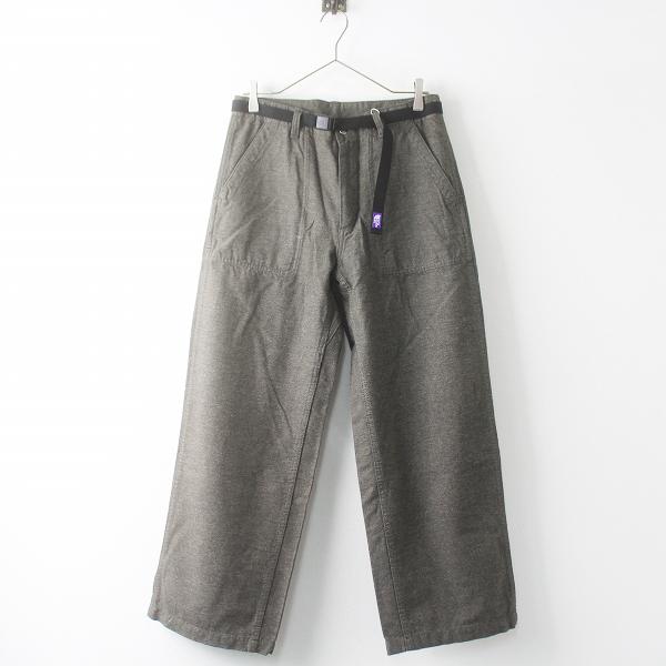 未使用 THE NORTH FACE PURPLE LABEL Jazz Nep Field Pants With Belt ジャズネップ フィールド パンツ ベルト付き M【2400011504517】