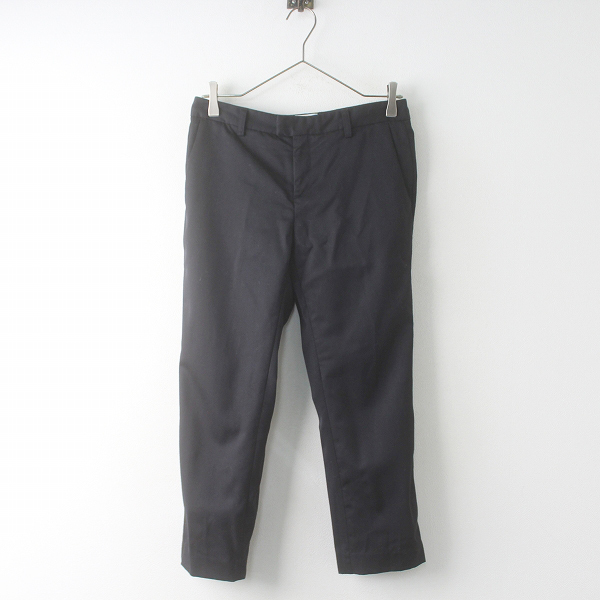 2017AW 秋冬 L'Appartement Deuxieme Classe ドゥーズィエムクラス Wool Cropped Pants ウール クロップド パンツ 34【2400011512567】