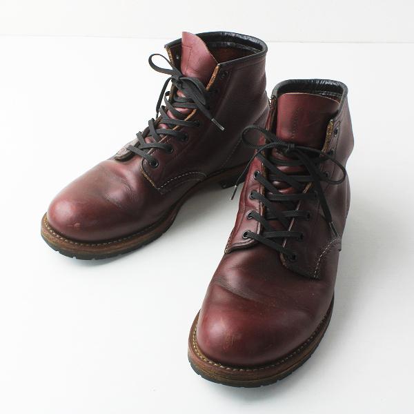 人気 RED WING レッドウィング 9011 ベックマン ブーツ 8.5 D(26.5cm) ブラックチェリー///レザー ハイカット メンズ【2400011513717】