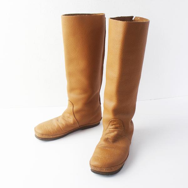 KOOS コース LUCAS L ロング ブーツ 約24/キャメル クツ 靴 フラット【2400011523228】