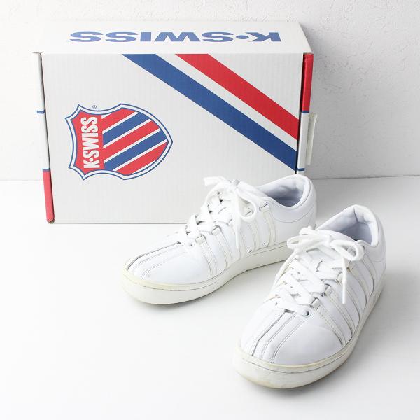 K-SWISS ケースイス クラシック88 スニーカー 24.5/ホワイト 靴 くつ シューズ【2400011525246】