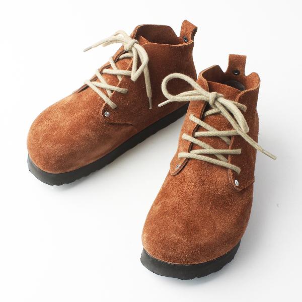 BIRKENSTOCK Footprints ビルケンシュトックフットプリンツ Dundee ダンディー スエードレザー シューズ 230/ブラウン 茶【2400011530080】