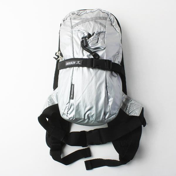 DANSKIN ダンスキン シルバー ミニ リュック バッグ/シルバー かばん BAG 鞄 ボディバッグ デイバッグ【2400011530875】