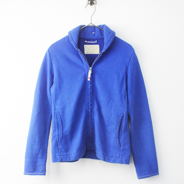 Pal'las Palace パラスパレス 襟付き ジップアップ スウェット 2/ブルー トップス 上着 羽織り【2400011535320】