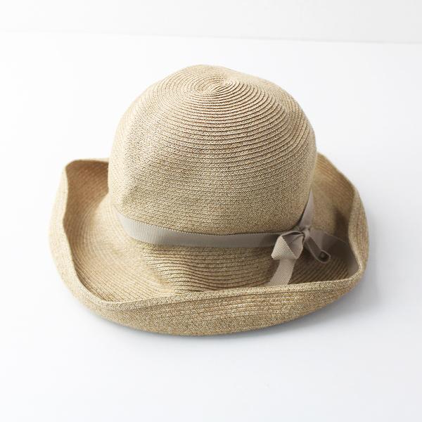 mature ha. マチュアーハ BOXED HAT 11cm ブリム グログラン リボン ボックス ハット/帽子 小物 ぼうし【2400011538864】