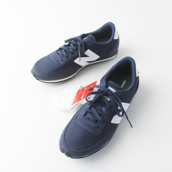 未使用品 New Balance ニューバランス 410 ランニングシューズ 24.0/ネイビー 靴 スニーカー【2400011538956】