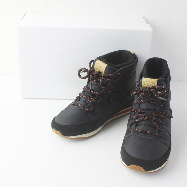 新品 定価1.5万 Teva テバ Ember Lace スノーブーツ 24/クロ 靴 シューズ【2400011539816】