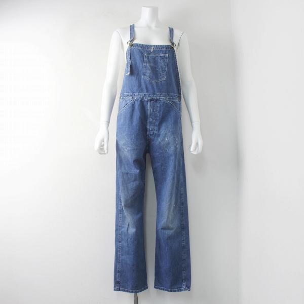 LEVI'S VINTAGE CLOTHING リーバイス ビンテージ クロージング ダメージ 加工 デニム オーバーオール /インディゴ【2400011544643】