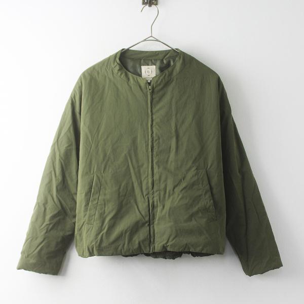 SM2 サマンサモスモス 中綿 ブルゾン ジャケット F/カーキ アウター 上着 羽織り ジップアップ【2400011552976】