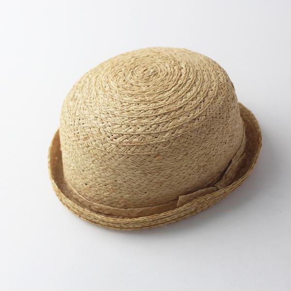 PoisE ポイゼ ラフィアハット/ナチュラル 帽子 HAT 麦わら ボーラー 【2400011554826】