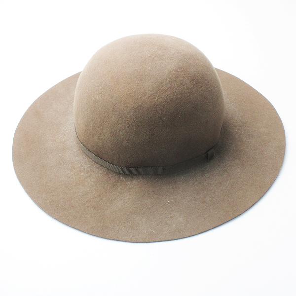 nest Robe ネストローブ フェルト ウール ハット/ブラウン ベージュ アクセサリー 小物 帽子【2400011555632】
