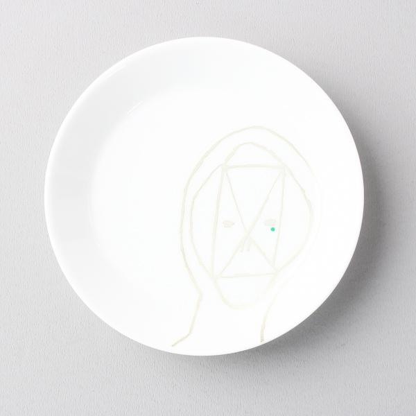未使用 mina perhonen ミナペルホネン ノベルティ 豆皿 陶器/ホワイト インテリア 食器 小物【2400011556165】