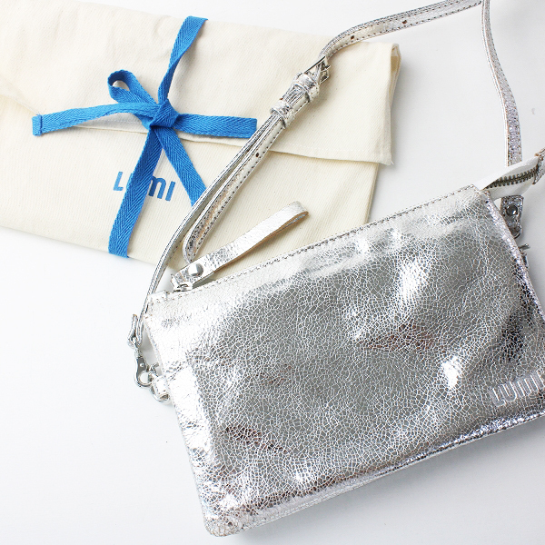 LUMI ルミ VENLA ALL-IN-ONE POUCH SILVER スーパー マーケットバッグ ポーチ/シルバー ポシェット【2400011556172】