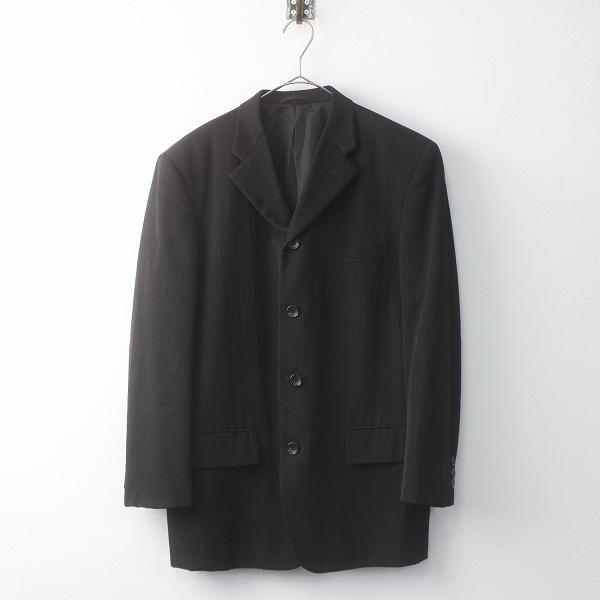 COMME des GARCONS HOMME コムデギャルソン オム ウール テーラード ジャケット S/メンズ ブラック【2400011559319】