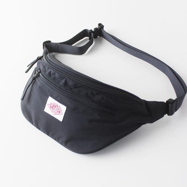 DANTON ダントン ナイロン ウエストポーチ/チャコールグレー バッグ ポシェット 鞄【2400011563736】