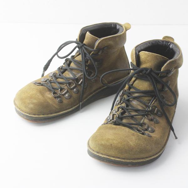 BIRKENSTOCK ビルケンシュトック Footprints フットプリンツ ミッドランド スエード レースアップ ブーツ 26/カーキ【2400011568632】