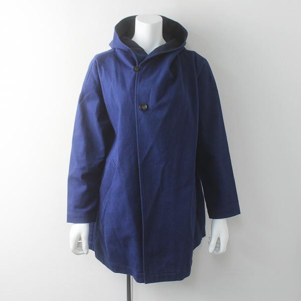 marble SUD マーブルシュッド アーミー クロス コート M/ブルー アウター 上着 羽織り ロング【2400011579515】