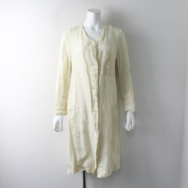 R&D.M.Co- オールドマンズテーラー リネン コート M/アイボリー 系 羽織り【2400011579959】
