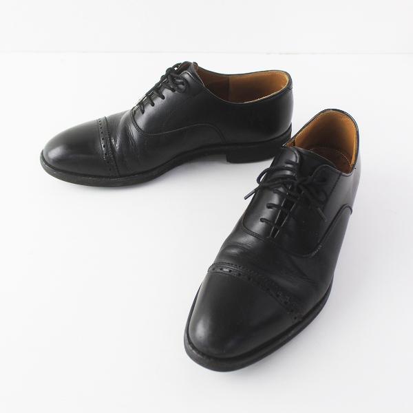 REGAL リーガル レースアップ レザーシューズ ビジネスシューズ メンズ/ブラック 革靴 仕事 ワーク【2400011583697】