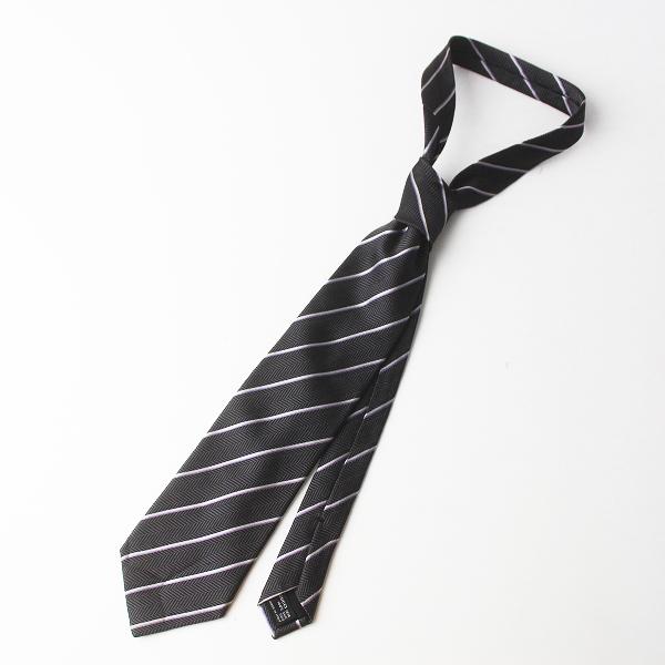 GUCCI グッチ ストライプ シルク ネクタイ/ビジネス 小物 メンズ 服飾 アクセサリー【2400011583765】