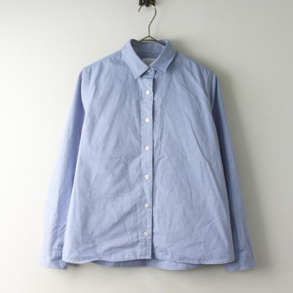 【期間限定30%OFF】THE NORTH FACE ザノースフェイス NRW11651 ALPHADRY Oxford Shirt M/ブルー トップス シャツ【2400011587183】