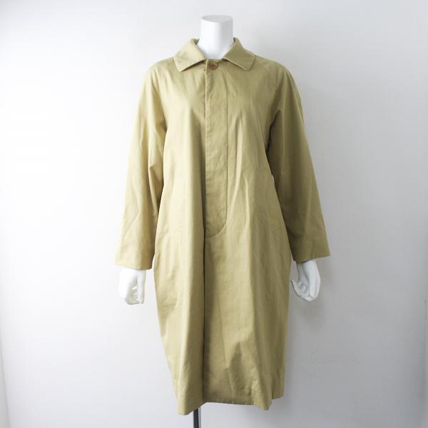 YAECA ヤエカ 165052 soutien collar coat long ステンカラーコート ロング S/ベージュ アウター【2400011589194】