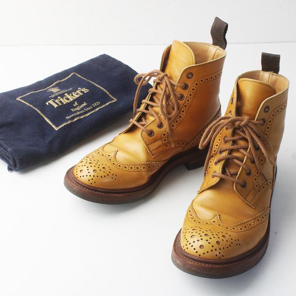 Tricker's トリッカーズ L5180 カントリー ブーツ 5 フィッティング4 3 1/8/エイコンアンティーク 靴 くつ シューズ【2400011602435】