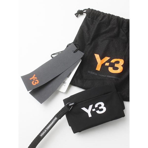 未使用品 Y-3 Y's Yohji Yamamoto ワイズ ヨウジヤマモト アディダス MINI WRIST ミニ リスト ロゴ リストバンド /黒【2400011602725】