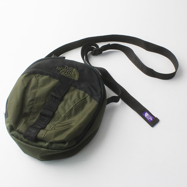 THE NORTH FACE PURPLE LABEL ジャーナルスタンダード別注 Nylon Ripstop Shoulder Pouch NN7961N/カーキ バッグ【2400011608130】