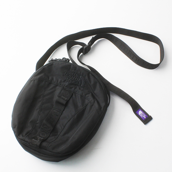 THE NORTH FACE PURPLE LABEL ジャーナルスタンダード別注 Nylon Ripstop Shoulder Pouch NN7961N/ブラック バッグ【2400011608147】