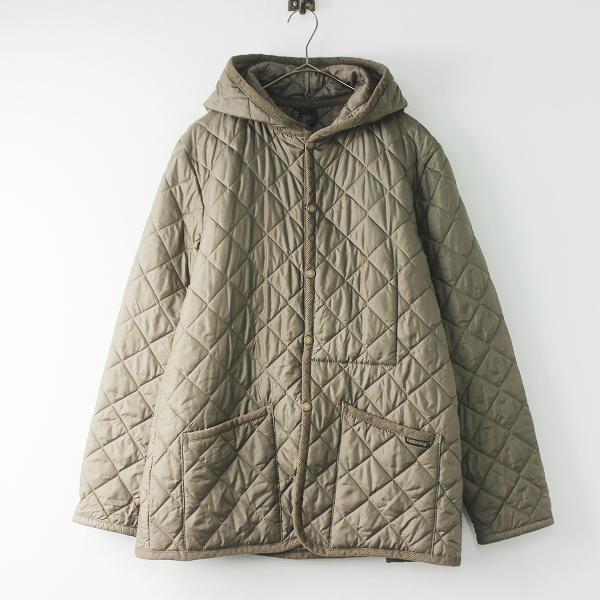 LAVENHAM ラベンハム クレイドン CRAYDON フード キルティング コート 40/ベージュ アウター 上着 羽織り【2400011612731】