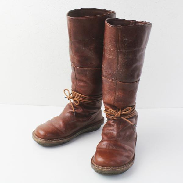 trippen トリッペン MEXICO レザーロングブーツ 36/ブラウン メキシコ 23〜23.5cm相当 靴【2400011620446】