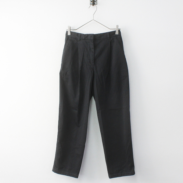 2018SS Acne Studios アクネ ストゥディオズ TABEA Cotton Chino Pant コットンチノパンツ 34/ブラック ボトムス【2400011635822】-.