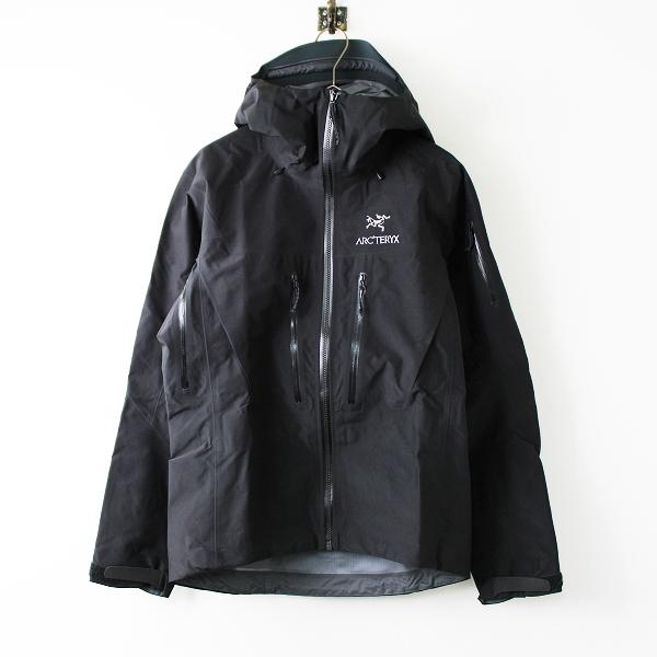 美品 定11万 ARC'TERYX アークテリクス 18082 Alpha SV Jacket アルファSVジャケット XS/メンズ アウター GORE-TEX 黒【2400011637208】