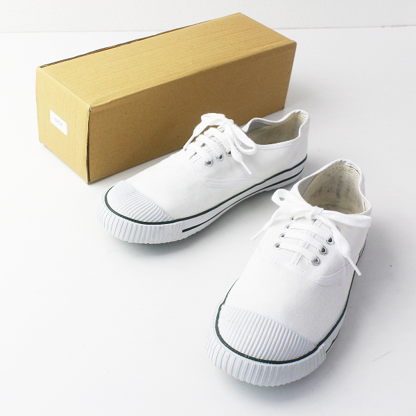 Bata tennis バタ テニス キャンバスレースアップシューズ UK6/ホワイト スニーカー 靴 くつ【2400011647863】