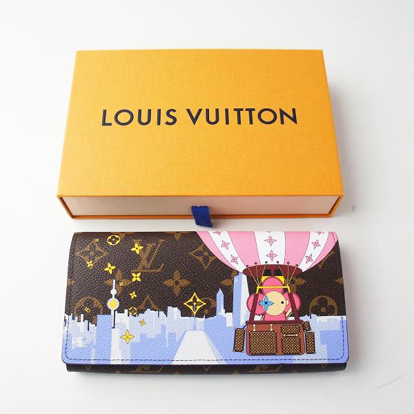 即決●新品 2019ホリデー LOUIS VUITTON ルイ ヴィトン M68491 ポルトフォイユ・サラ ヴィヴィエンヌ モノグラム 長財布【2400011648891】