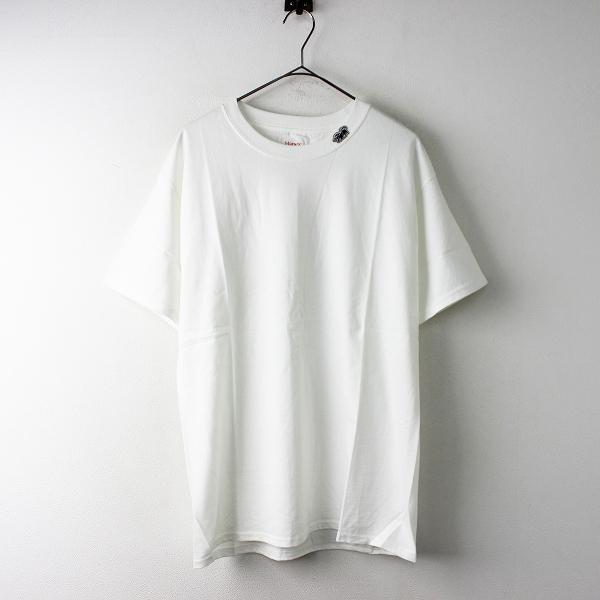 メンズ HORDEN × HANES ホーデン ヘインズ Black Horse Short Sleeve Tシャツ 30711240 M/ホワイト トップス【2400011649911】