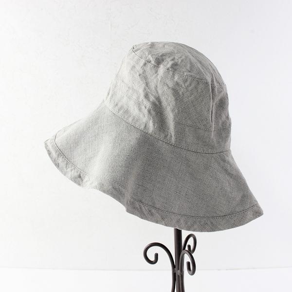 定番 人気 fog linen work フォグリネンワーク ロージュ リネンハット/キナリ 麻 帽子 ナチュラル ツバ広【2400011657305】